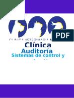 Auditoria Administrativa de una Veterinaria