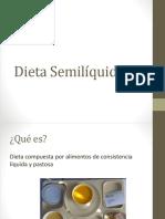 Dieta Semilíquida, Blanda y Facil Digestion