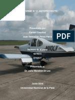 Determinacion de Resistencia de un aeronave RV-10