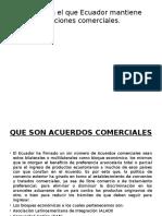 Países Con El Que Ecuador Mantiene Relaciones Comerciale