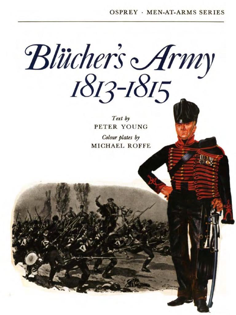 Alte Pornen osprey, men-at-arms #009 blucher's army 1813-1815 (1973) ocr