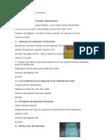 Lista de Libros y Precio Derecho
