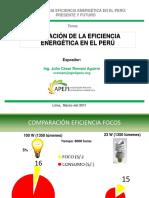Situación de La Eficiencia Energética en El Perú