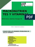 Clase 2 Macronutrientes y Vitaminas