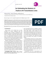 Novel Algorithm for Estimating the Distance of Open-Conductor Faults in HV Transmission Lines (Documento)