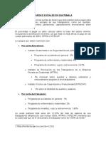 Cargas Sociales en Guatemala