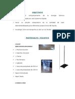 Informe Laboratorio 8 Fisica II UNMSM