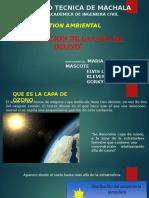 Disminucion de La Capa de Ozono Grupo 3