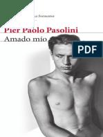 Amado Mío - Pier Paolo Pasolini