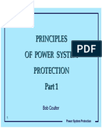 Principles of Power Systems Protection Part 1