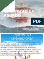 Organización Abordo- Puente