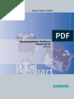 Sipart Siemens Ps2 6dr56XX FF Manual