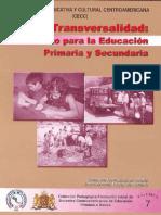LaTransversalidadRetoEducacionPrimariaSecundaria