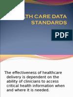 Hc Data Standards