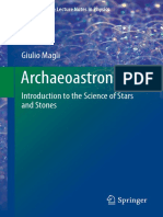 Archaeoastronomy Introduction to the Science of Stars and Stones [2016]