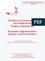 Postharvest Technology for Small-Scale Produce Marketers 234-1937
