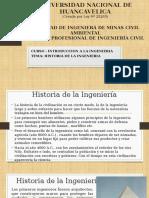Clase 01 Historia de La Ingenieria