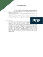Objetivos y Conclusiones Ictiología