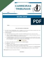 157 - Técnico Do Tribunal Regional Do Trabalho - TRT