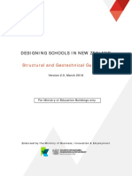 Designing Schools in New Zealand Structural and Geotechnical Guidelines 05042016