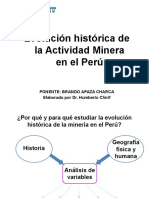 Evolucion Minera en El Peru