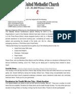 20100523 Announcements Print