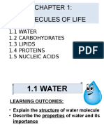 1.1 Water - Student