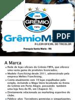 Programa de Marketing para Franquia da GrêmioMania.