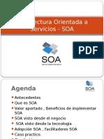 Arquitectura Orientada a Servicios - SOA