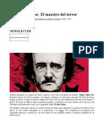 Cosas Sobre Poe