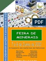 Cartaz Feira Minerais