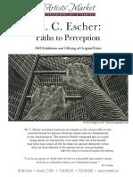 MCEscher-PathsToPerception-2009Exhibition