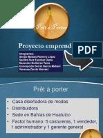 Proyecto emprendedor Presenntación CAMVAS