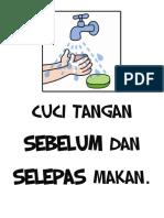 Cuci Tangan Sebelum Dan Selepas Makan - Copy