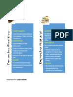 Derecho Positivo y Derecho Natural PDF
