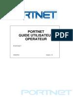 Guide Opreateur PORTNET