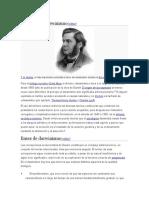 Historia Del Darwinismo