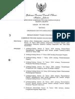 Pergub No 146 Tahun 2009 Ttg OTK Kecamatan