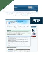 Details Pane - Show or Hide in Windows 8 File Explorer