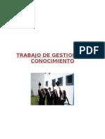 Trabajo de Gestion Del Conocimiento 2010