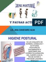 Higiene Postural y Pausas Activas