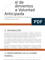 PNO Voluntad Anticipada