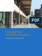 Financial Aid at Juilliard 4
