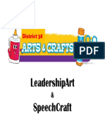 Speech Craft Information TLI