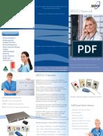 Sedco Nursecall System Brochure e