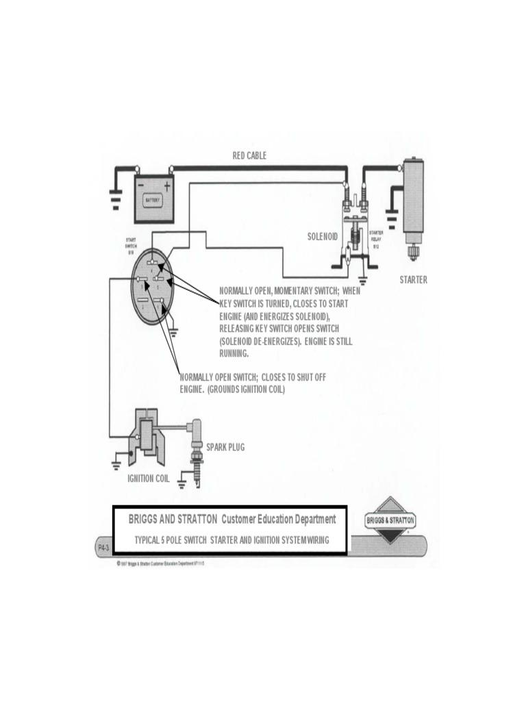 ignition wiring 5 pole  scribd