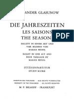Alexander Glazunov - Les Saisons, Op. 67