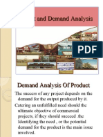 Market and Demand Analysis 2003