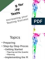 Wksp 7 Essay Tests