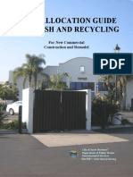 Trash and Recycling Space Allocation Guide